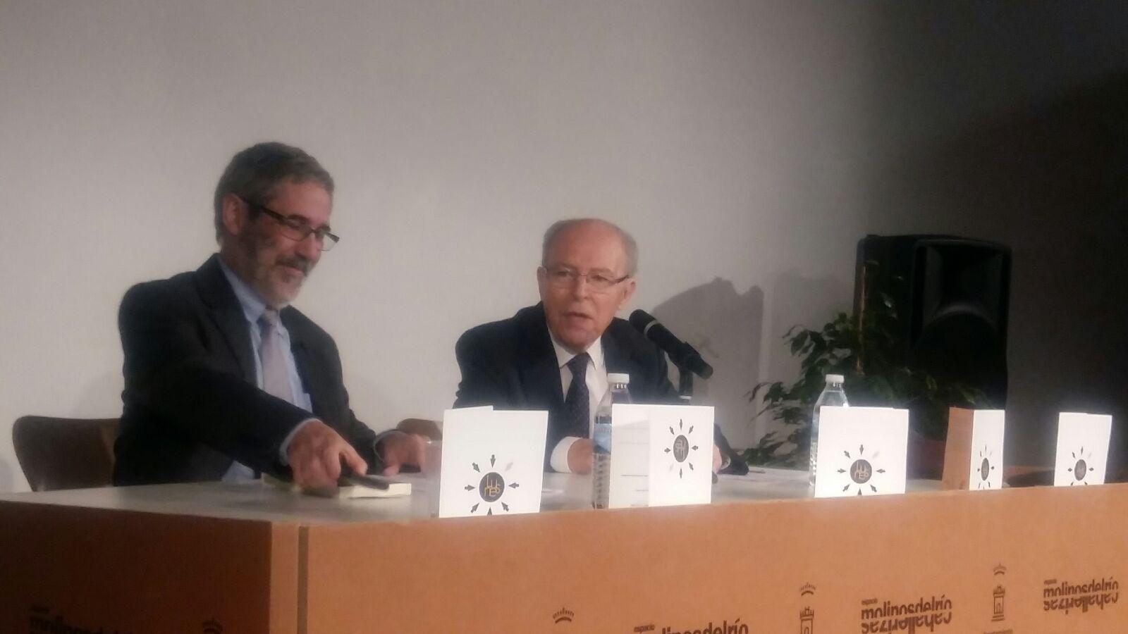 Dr. Guinot y Pablo Villacorta